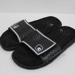 And1 Men's Black Flip Flops Size 9